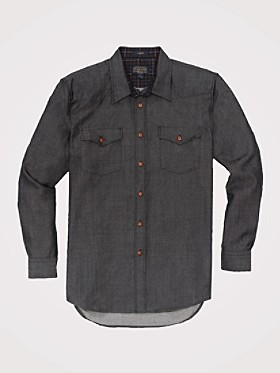 Fitted Carson Wooldenim Shirt