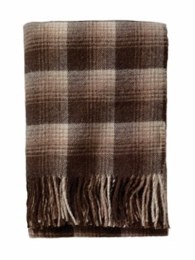 Alpaca Fringed Throw