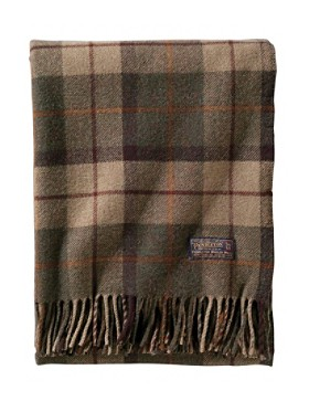 Thomas Kay Lambswool Throw With Carrier