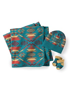 Coyote Butte Knit Layette Set