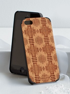 Cherry Wood Iphone Case