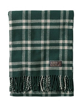 Thomas Kay Weaver's Plaid Throw/carrier