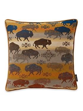 Land Of The Buffalo Pillow