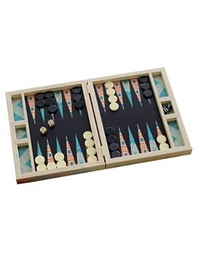 Birch Backgammon Board