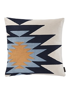 Pueblo Dwelling Embroidered Pillow