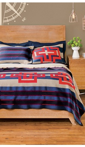 Compass Stripe Blanket Collection