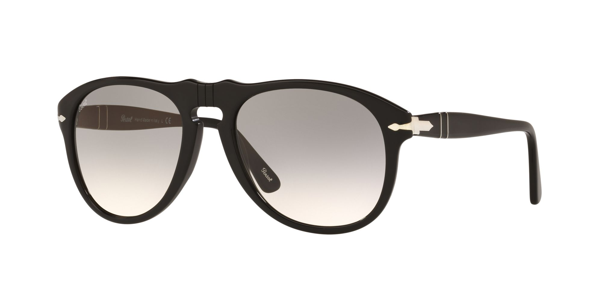feab7537f7 Sun PO0649 - Black - Clear Gradient Grey - Acetate