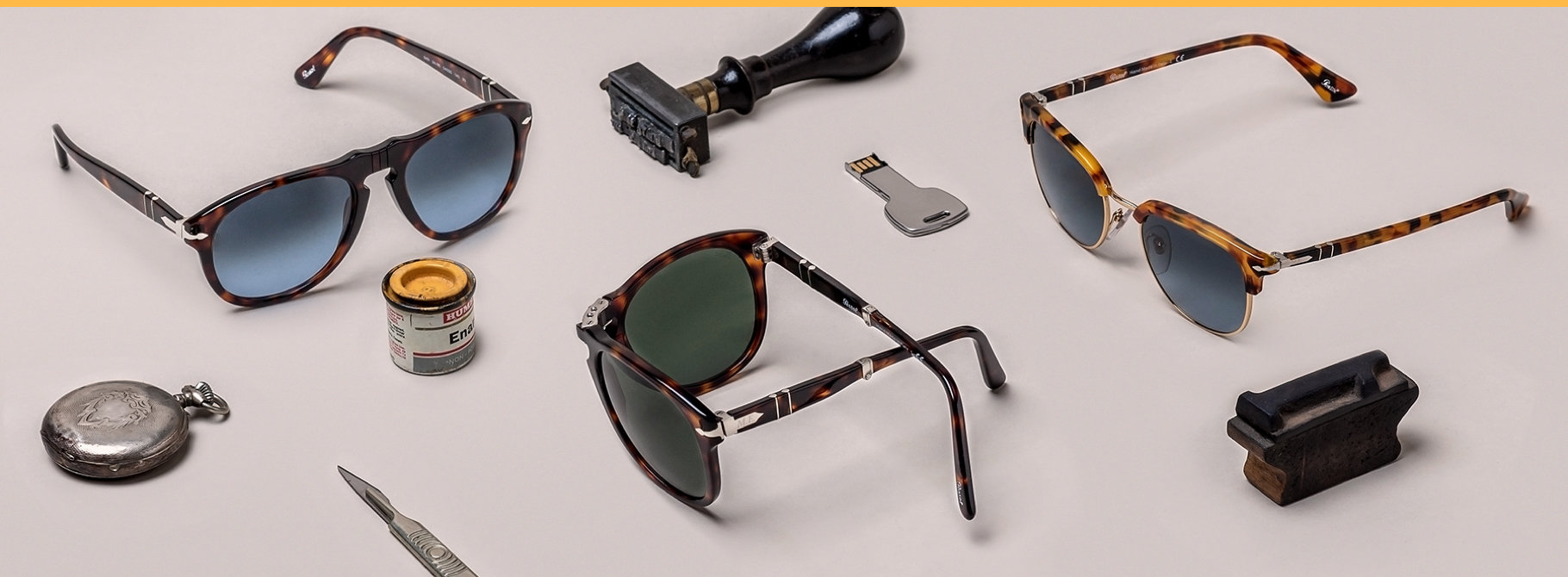 Persol monogram customization | sunglasses