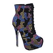 e4d3d57d064f Women s Platform High Heel Ankle Boot 110