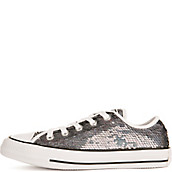 Pewter Silver Women S Chuck Taylor Ox Casual Shoes