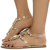 686615032772 Buy Women s Jeweled Sandals