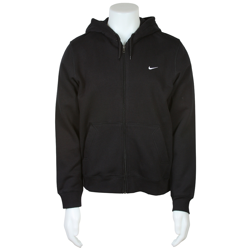 Nike Classic Fleece Full Zip Hoodie   341573 010   Loungewear Apparel