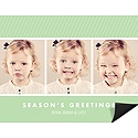 Spice & Everything Nice Photo Holiday Card Magnet