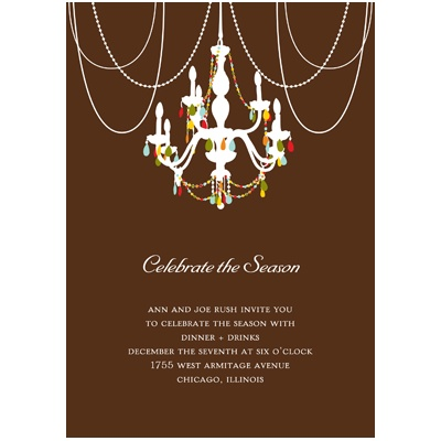 Holiday Party Invitations – Tree Trimming Party Invitation