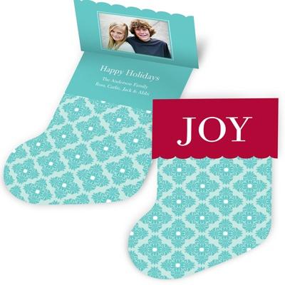 Mantle Joy -- Photo Holiday Card
