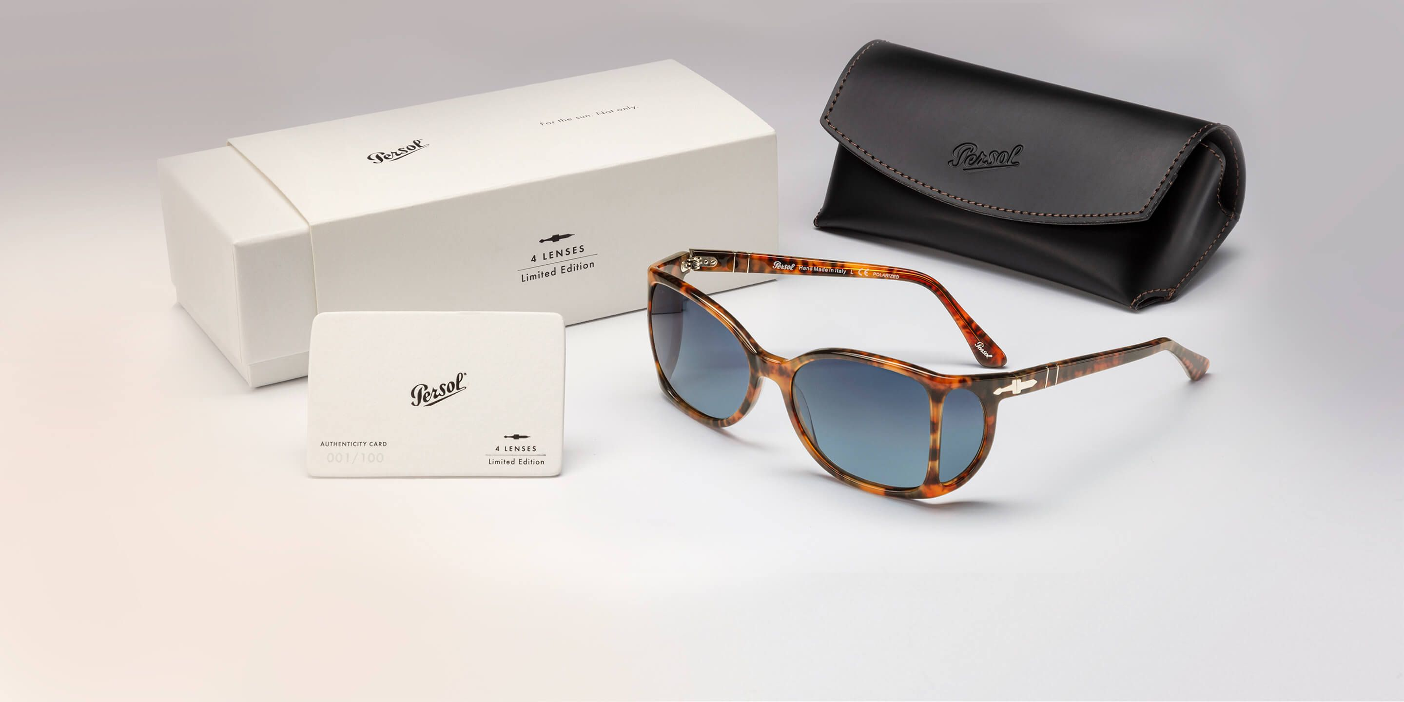 d28426311 4 Lenses Limited Edition. 100 pieces, exclusively on Persol.com