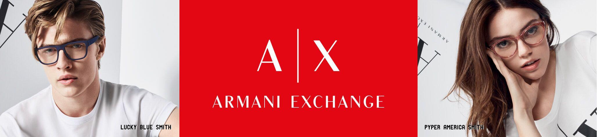 Armani Exchange banner