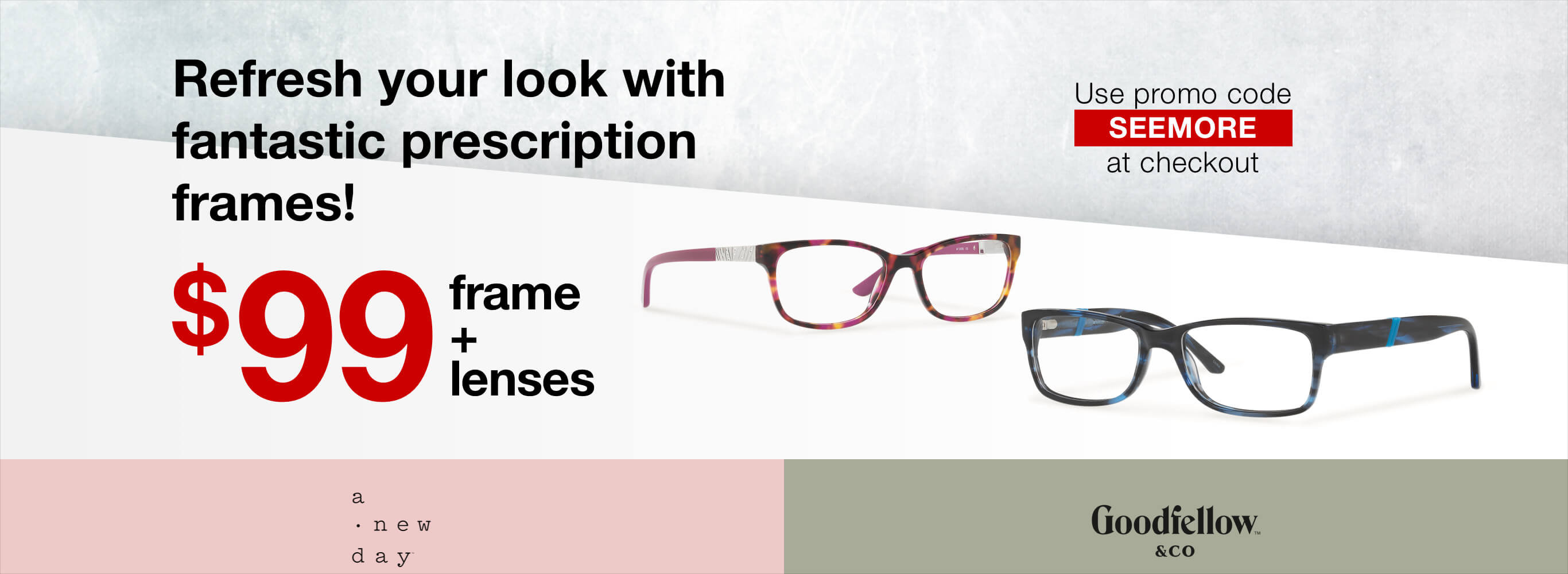 d90a8b16691b Glasses, Sunglasses, Contacts & Eyewear Online | Target Optical