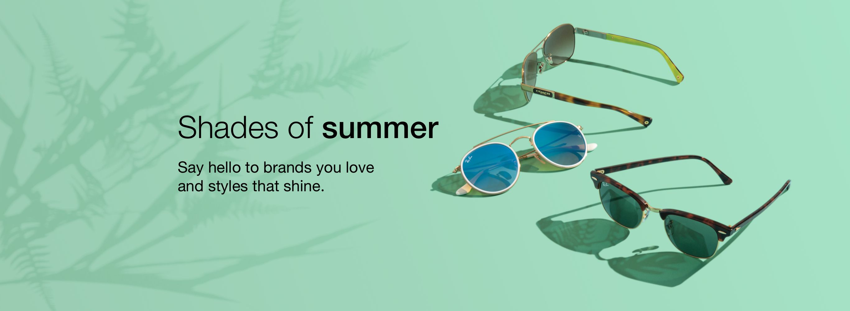 summer shades banner