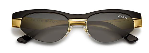 Gigi Hadid For Vogue VO4105S - Matte Black gold 1541eb4c4d20