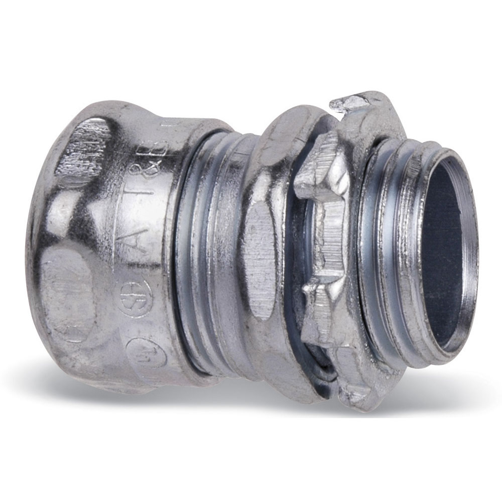 Products Conduit Fittings Connectors Electrical Metallic Emt Metal Tubing Galvanized Steel Pipe T B 5621 2in Compress Conn Stl Ezinc
