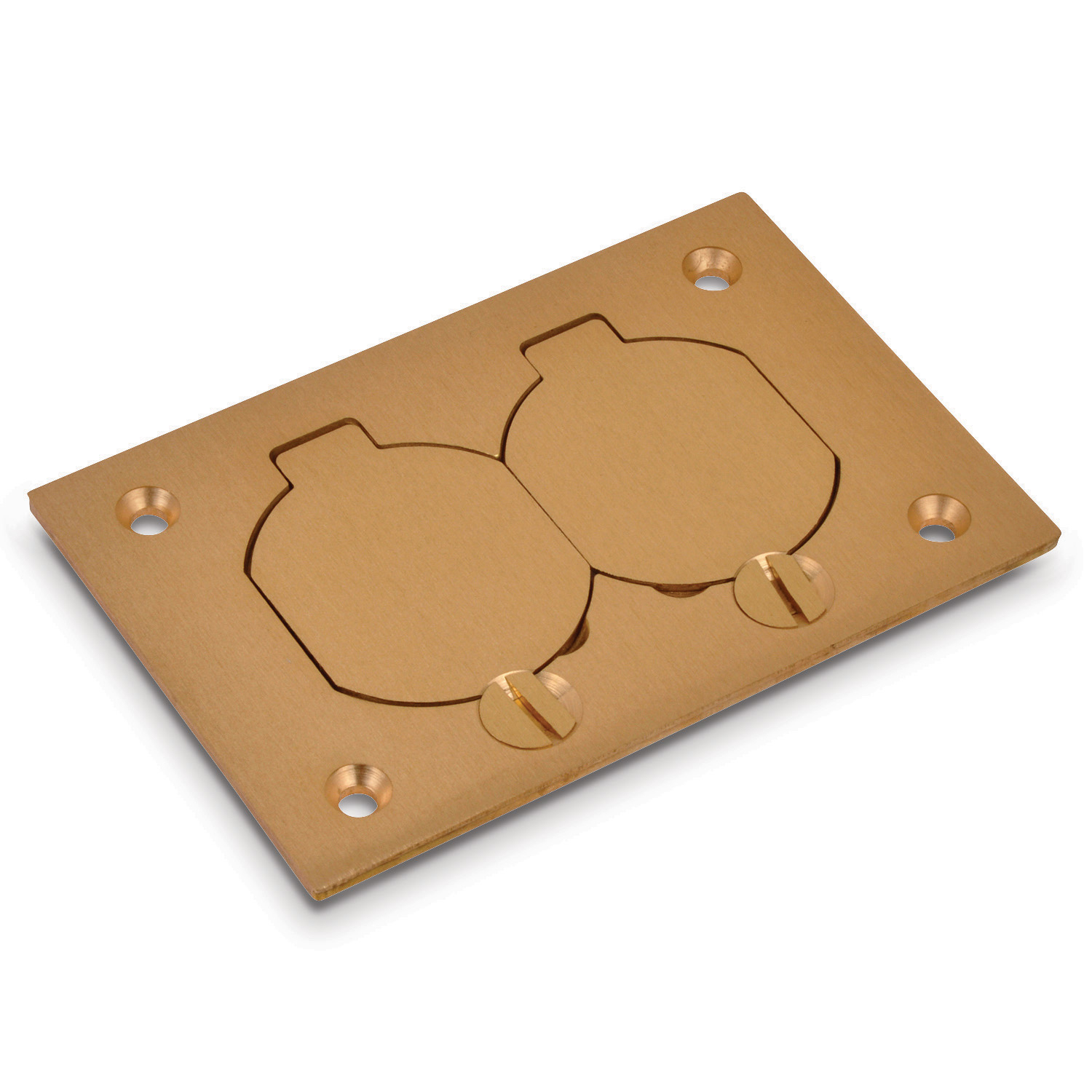 STL-CTY P64-DS BRASS COVER PLATE