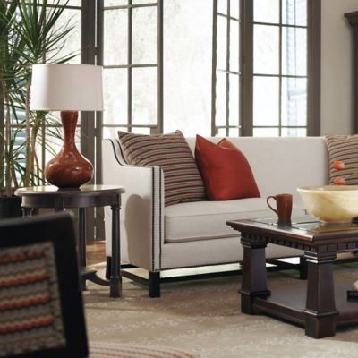 Bernhardt Pacific Canyon Round Side Table