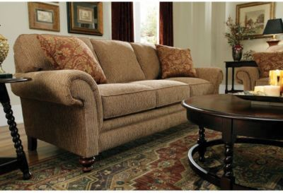 ... Sofa And Loveseat Set In Tan. Mouse Over Image For A Closer Look.