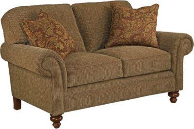 Ideal Broyhill Larissa 2 Piece Sofa and Loveseat Set in Tan IV81