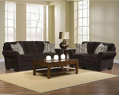 Broyhill Zachary Piece Sofa And Loveseat Set - Broyhill zachary sofa