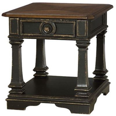 Hammary Dorset Rectangular Drawer End Table