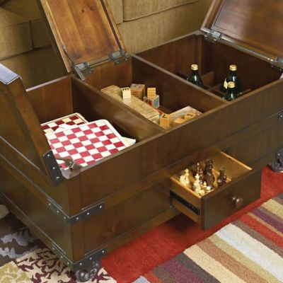 Nice ... Coffee Tables   Hammary Hidden Treasures Trunk Cocktail Table. Mouse  Over Image For A Closer Look.