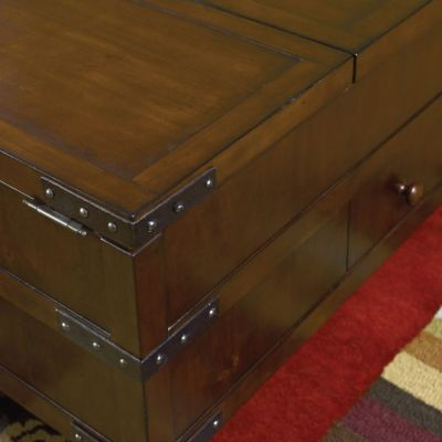 Captivating ... Coffee Tables   Hammary Hidden Treasures Trunk Cocktail Table. Mouse  Over Image For A Closer Look.