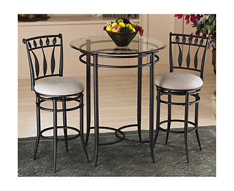 Sensational Hillsdale Furniture Mix N Match Hudson 3 Piece Bistro Set Gmtry Best Dining Table And Chair Ideas Images Gmtryco