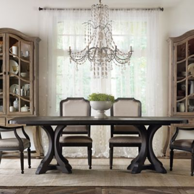 Hooker Furniture Corsica Rectangle Dining Table in Espresso Finish
