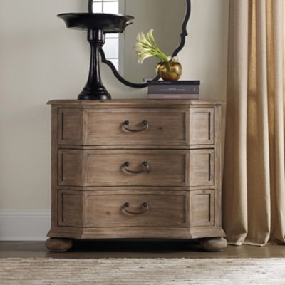 Hooker Furniture Corsica Tall Bachelors Chest In Natural