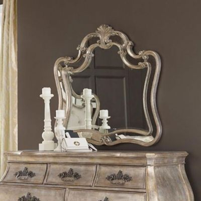 ... Hooker Furniture Sanctuary Bardot Shaped Mirror. Mouse Over Image For A  Closer Look.