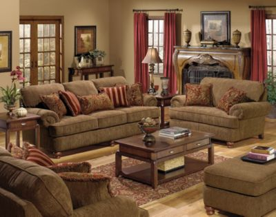 Captivating ... Piece Living Room Set In Umber. Mouse Over Image For A Closer Look. Part 6