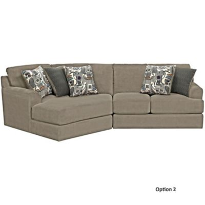 Jackson Malibu Sectional In Taupe You Choose The