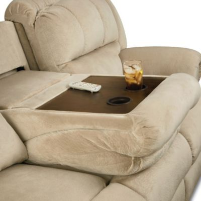Mouse over image for a closer look. & Lane Evans Double Reclining Sofa with Tray Table - You Choose the ... islam-shia.org