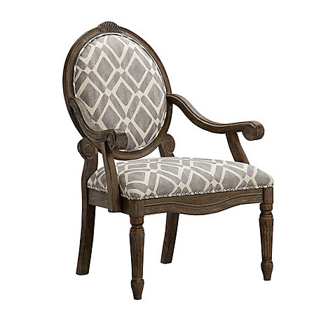 Cool Madison Park Brentwood Accent Chair In Roma Granite Theyellowbook Wood Chair Design Ideas Theyellowbookinfo
