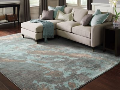 Oriental Weavers Sedona 6367a Abstract Blue And Grey Area Rug