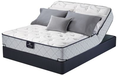 Full serta perfect sleeper queensferry plush mattress for Furniture queensferry