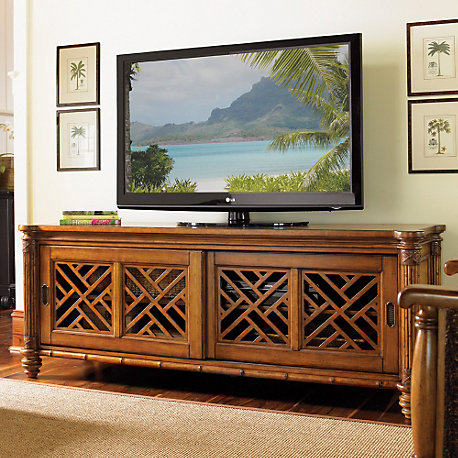 Home Tv Stands Tommy Bahama Island Estate Nevis Media Console Drag Image To Explore