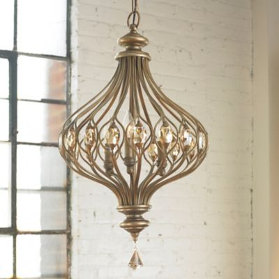 Uttermost sabina 3 light gold pendant uttermost sabina 3 light gold pendant mouse over image for a closer look mozeypictures Image collections
