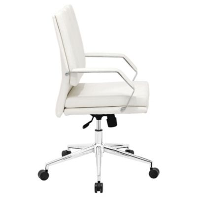 zuo modern director pro office chair in white. Black Bedroom Furniture Sets. Home Design Ideas