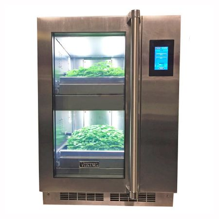 Micro Green And Herb Growing Cabinet