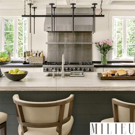 Southampton Kitchen Designed To Be Center Stage - Viking Range, LLC