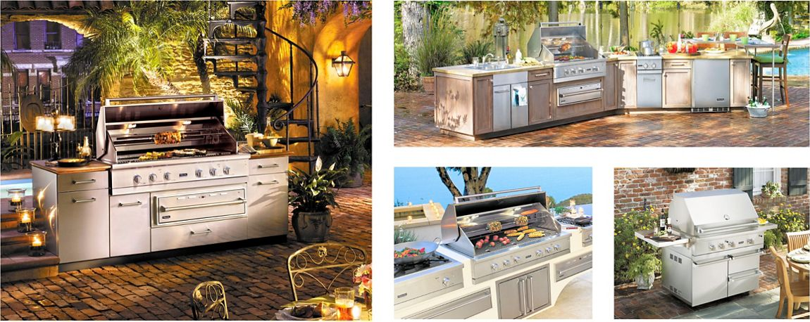 Outdoor viking range llc for Viking outdoor kitchen designs