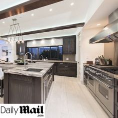 Rihannas West Hollywood Home Features A Viking Kitchen